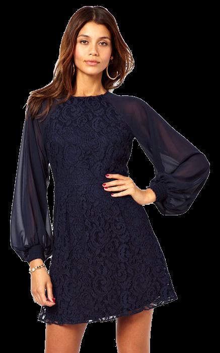 24f54f8d8963 Haljine i tunike  Ženska haljina Sherri - plava