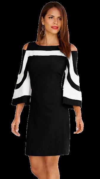 7b4f16a0db15 Haljine i tunike  Ženska haljina Nina - crna