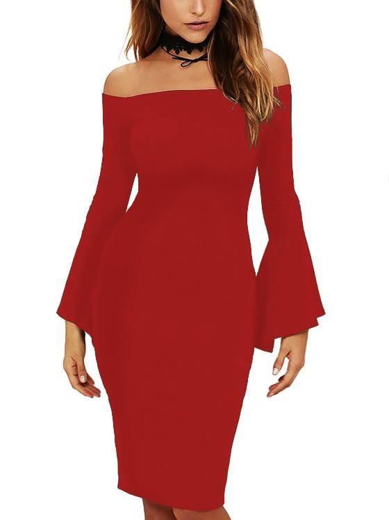 c9afb36a2a05 Haljine i tunike  Ženska haljina Roberta - crvena